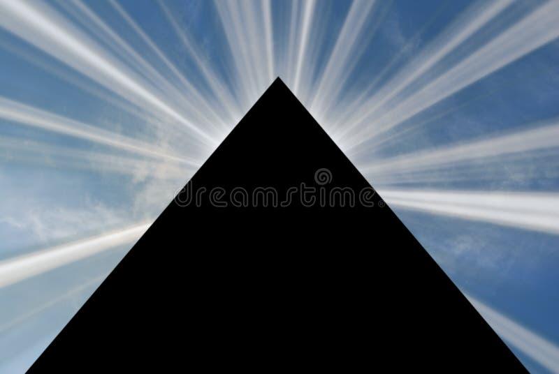 Pirámide 03 imagen de archivo