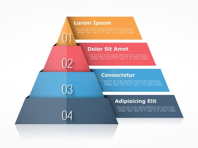 pirámide ilustración del vector