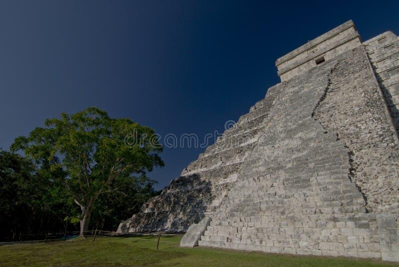 Pirámide Chichen Itza México imagen de archivo libre de regalías