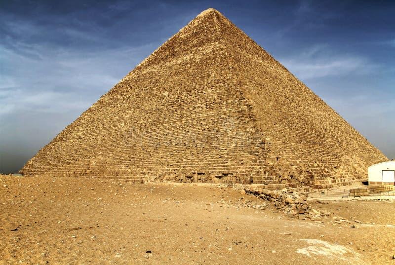 Pirámide de Cheops en Giza fotos de archivo libres de regalías