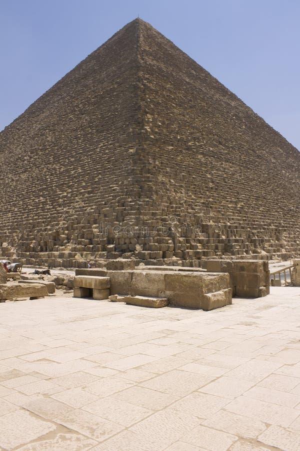 Pirámide de Khufu (Cheops) imagenes de archivo