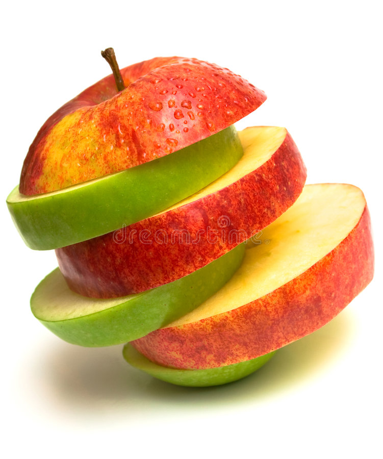 Pirámide de la fruta imagen de archivo libre de regalías