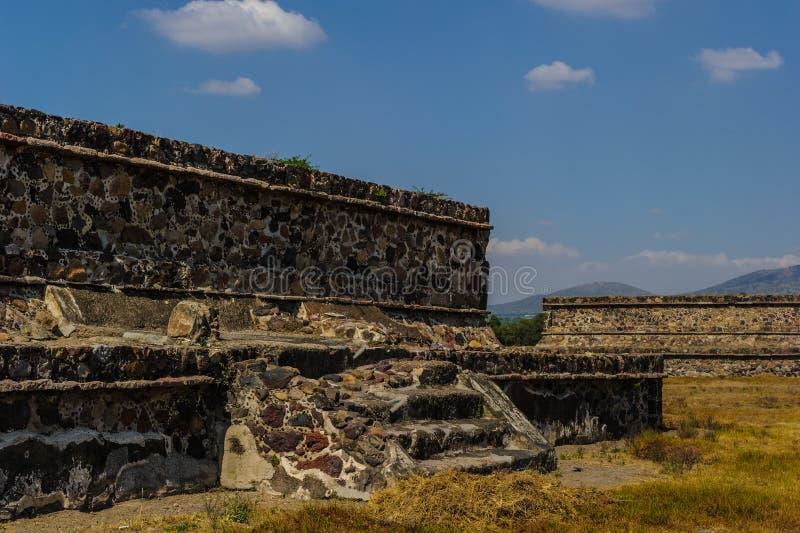 Pirámide de la luna, Teotihuacan, México fotos de archivo