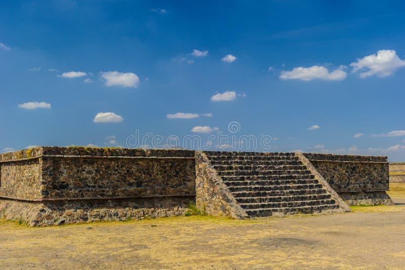 Pirámide de la luna, Teotihuacan, México foto de archivo libre de regalías