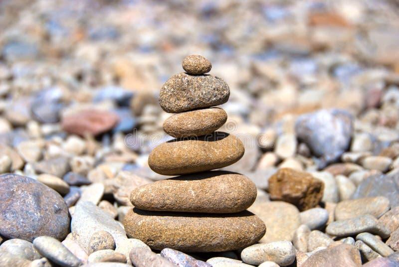 Pirámide De Las Piedras Fotos De Archivo