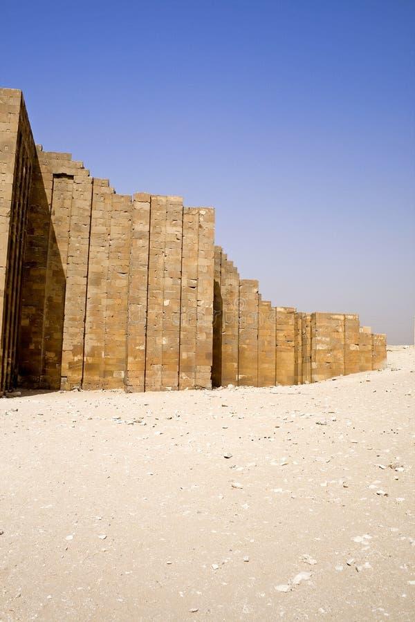 Pirámide del paso de progresión de Djoser foto de archivo libre de regalías