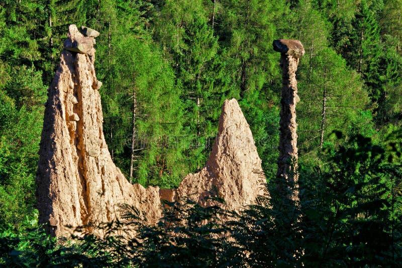 Pirámide del segonzano foto de archivo libre de regalías