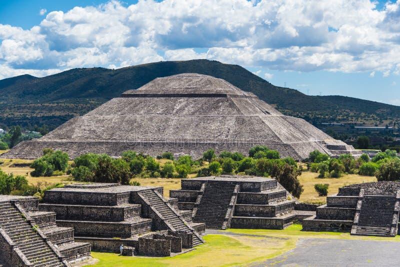 Pirámide del Sun fotografía de archivo libre de regalías