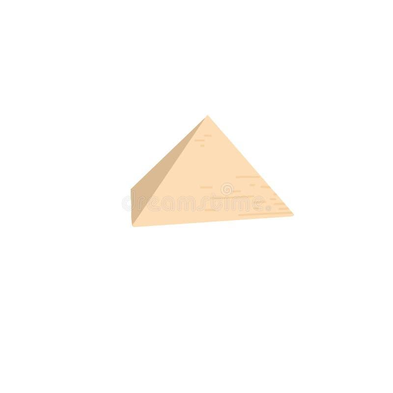 Pirámide egipcia en Giza, estructura arquitectónica famosa libre illustration