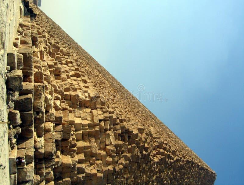Pirámide en Giza imagen de archivo libre de regalías