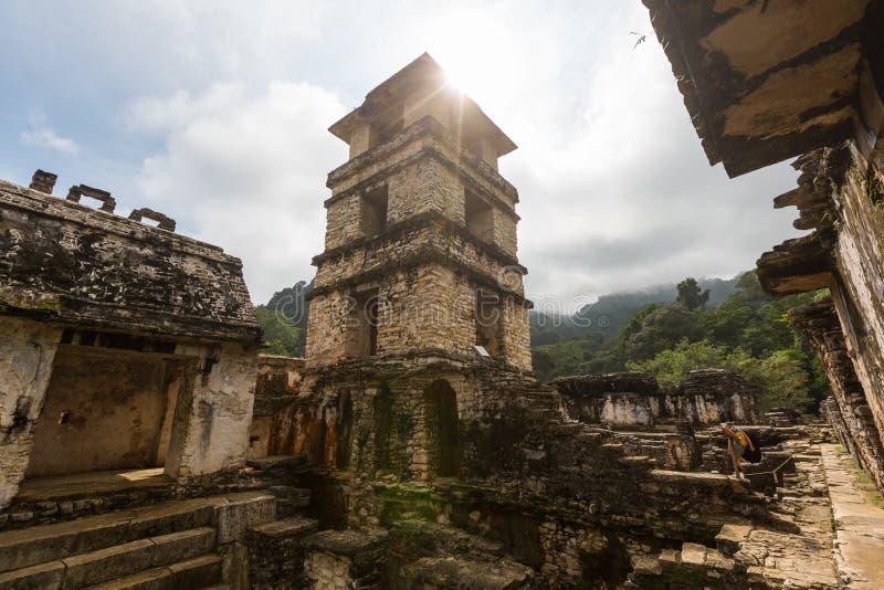Pirámide en México fotografía de archivo