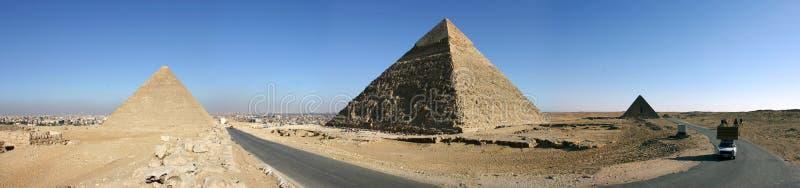 Pirámides fotos de archivo