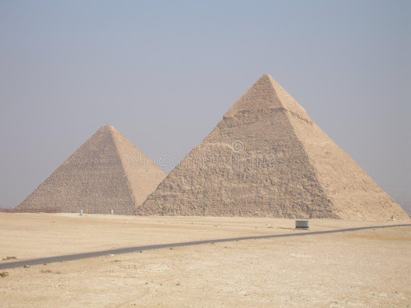 Pirámides fotografía de archivo libre de regalías