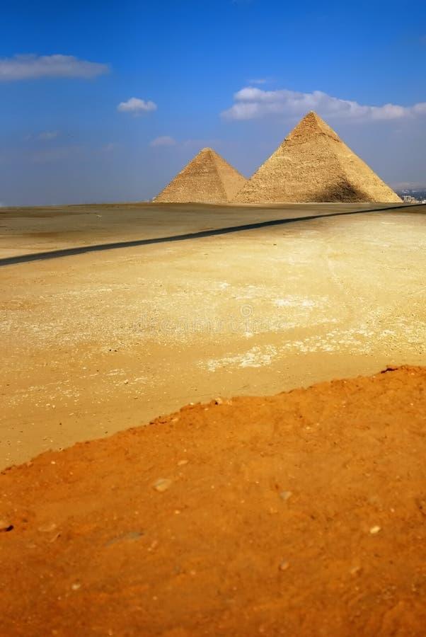 Pirámides imagen de archivo