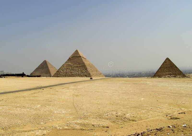 Pirámides foto de archivo