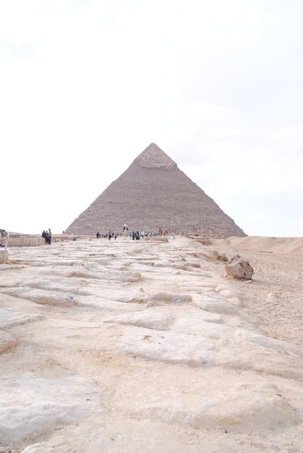 Pirámides en Egipto foto de archivo libre de regalías