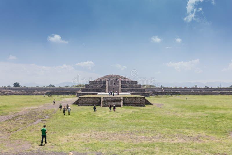 Pirámides México de Teotihuacan fotografía de archivo libre de regalías