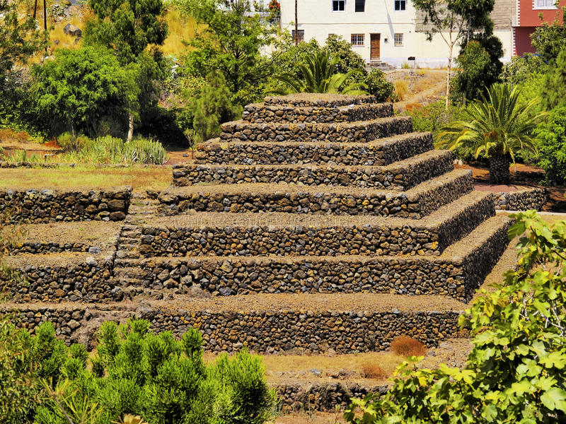 Pirámides, Tenerife foto de archivo libre de regalías
