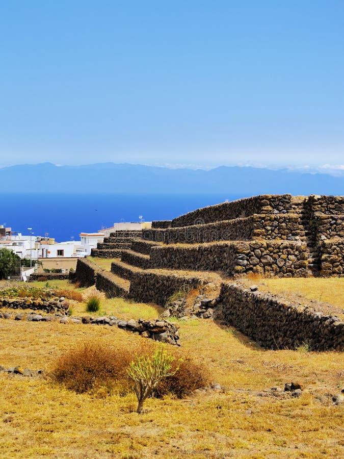 Pirámides, Tenerife fotos de archivo