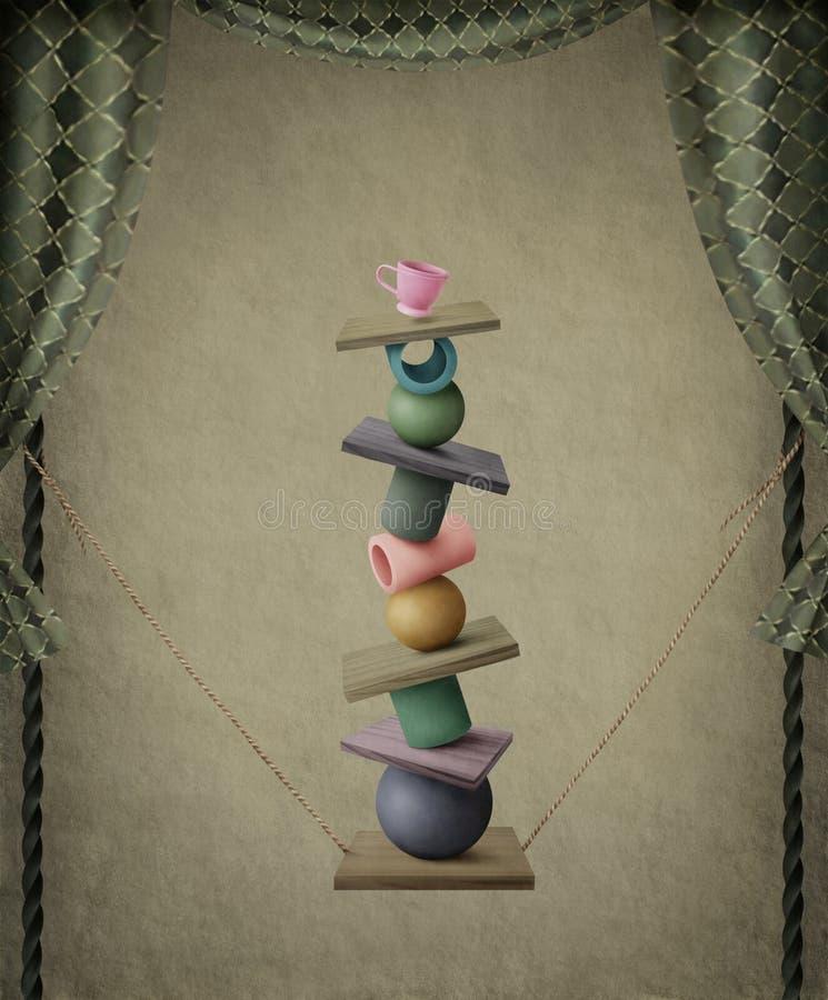 Download Pirâmide ilustração stock. Ilustração de imagem, poster - 10054263