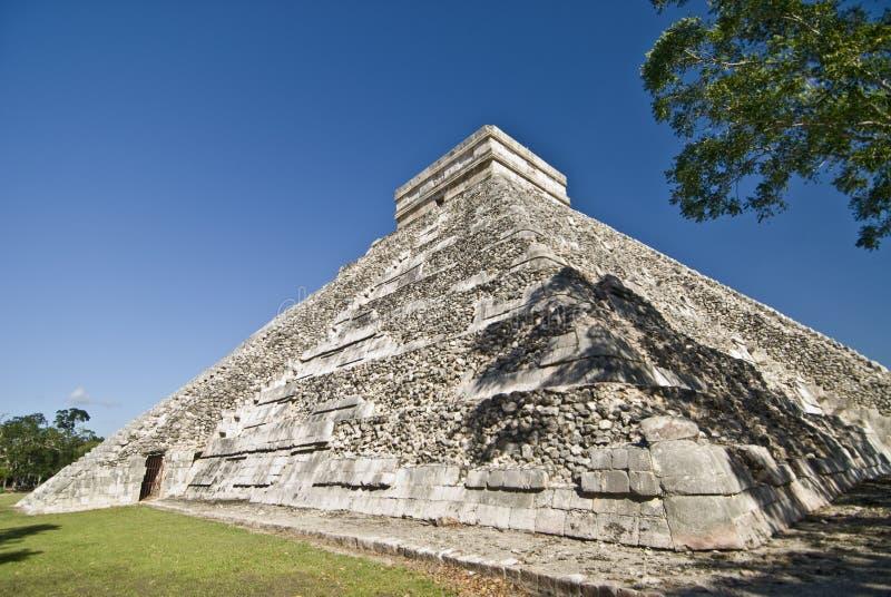 Pirâmide Chichen Itza México fotografia de stock