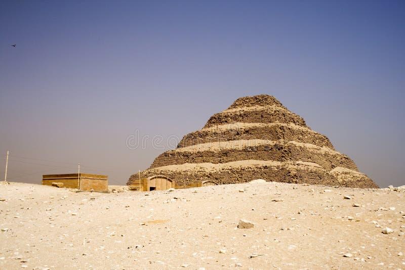 A pirâmide da etapa de Djoser imagem de stock royalty free
