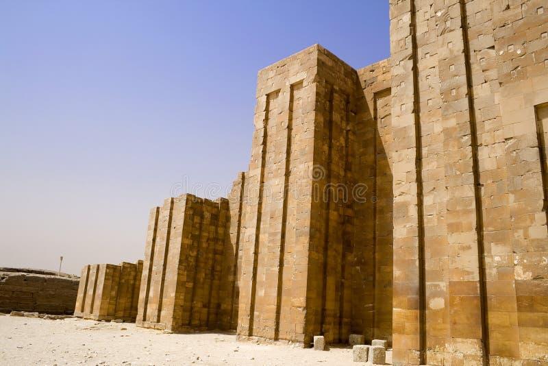 Pirâmide da etapa de Djoser imagem de stock royalty free