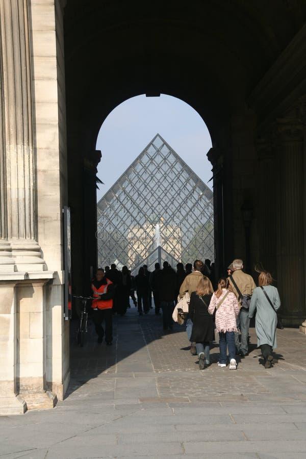 Pirâmide da grelha imagens de stock royalty free