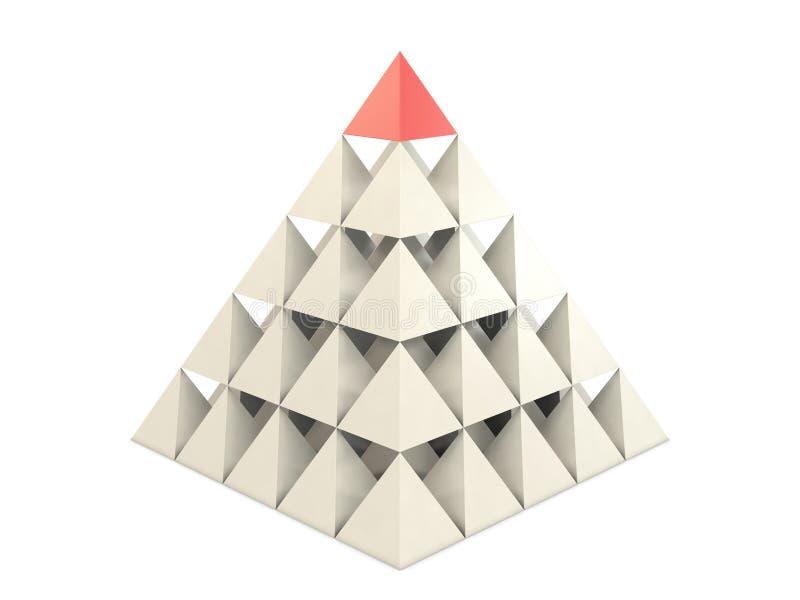 Pirâmide das pirâmides ilustração do vetor