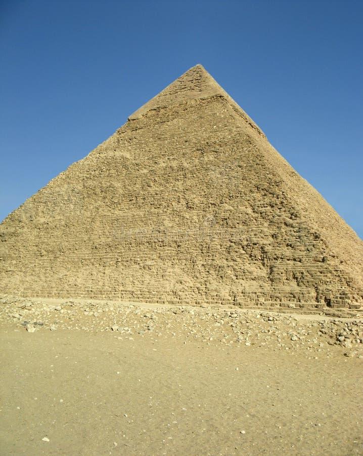 Pirâmide de Chefren foto de stock