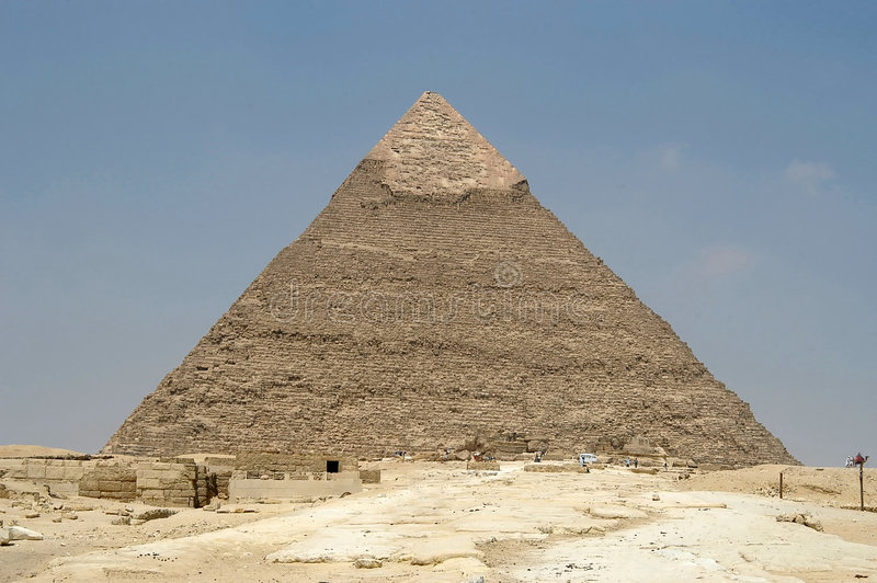 Download Pirâmide de Cheope foto de stock. Imagem de poeira, egipto - 54758