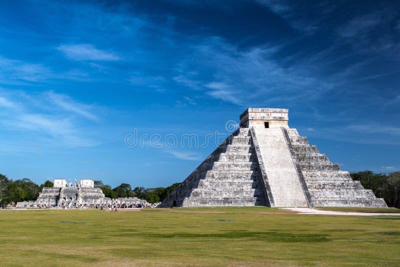 Pirâmide de Chichen Itza fotografia de stock