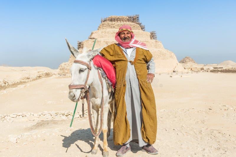 Pirâmide de Djoser, Egito foto de stock royalty free