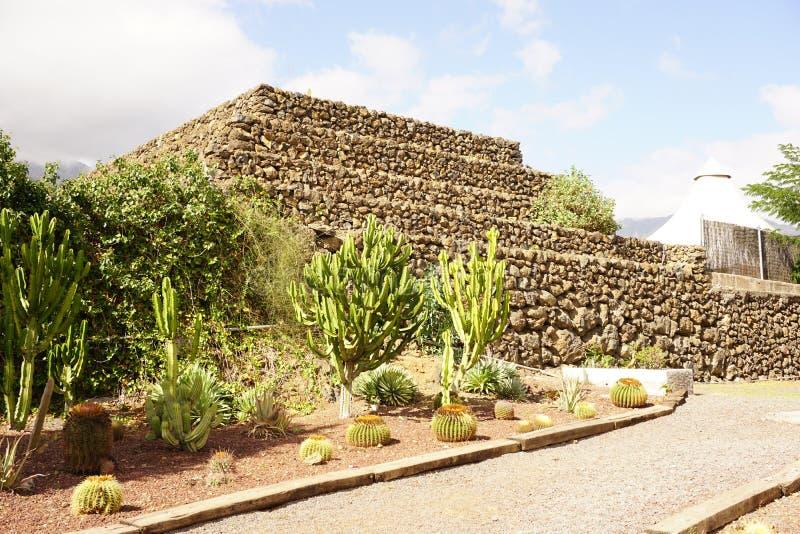 A pirâmide de Guanches imagem de stock royalty free