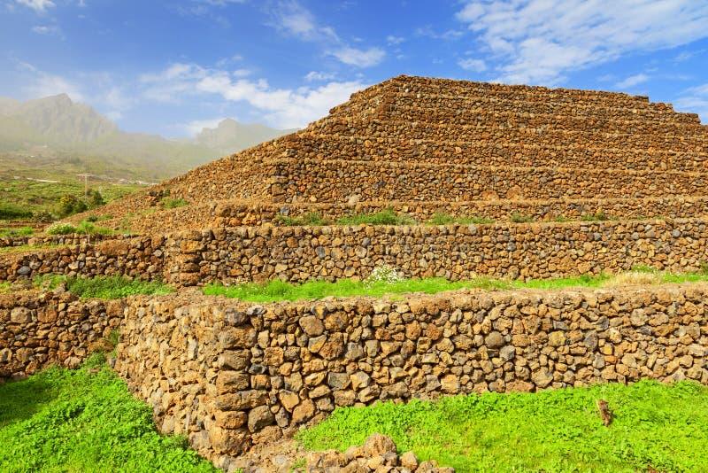 Pirâmide de Guimar fotografia de stock