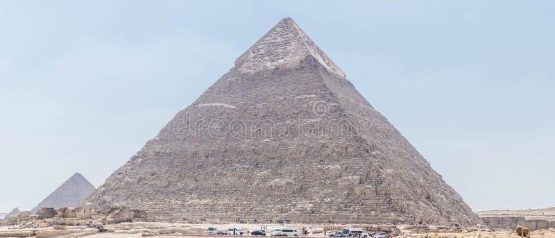 Pirâmide de Khafre em Giza fotos de stock