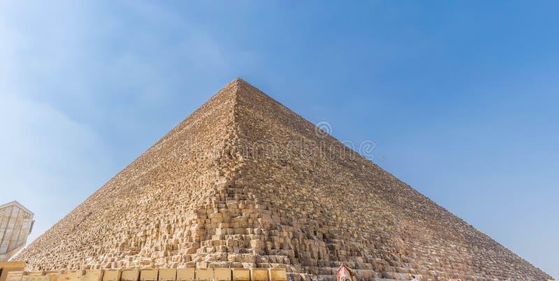 A pirâmide de Khufu, platô de Giza foto de stock royalty free