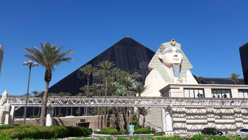 Pirâmide de Las Vegas Nevada Egyptian foto de stock royalty free