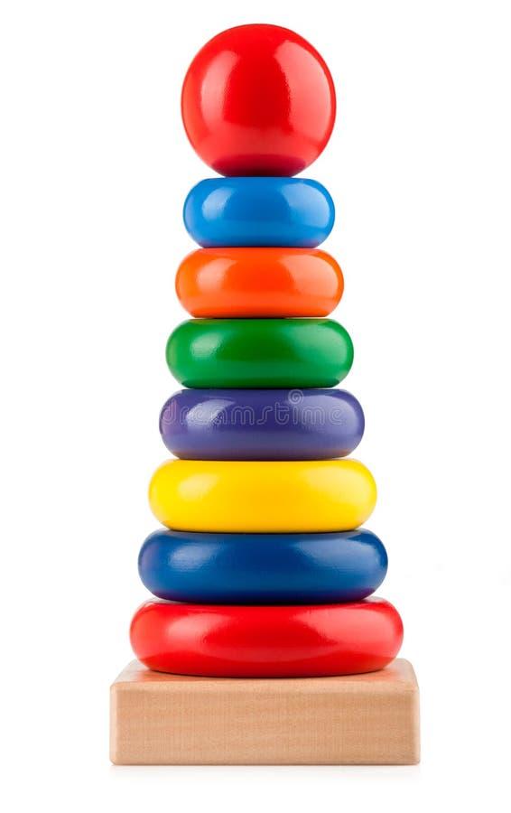 Pirâmide do brinquedo fotografia de stock royalty free