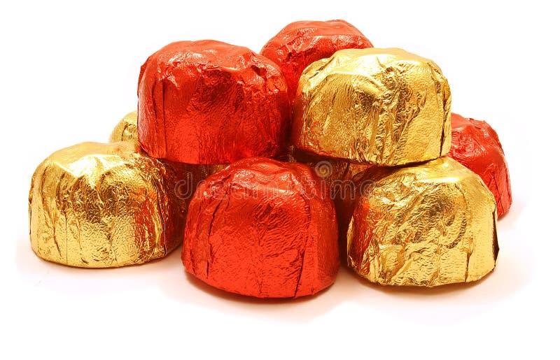 Pirâmide do chocolate imagem de stock