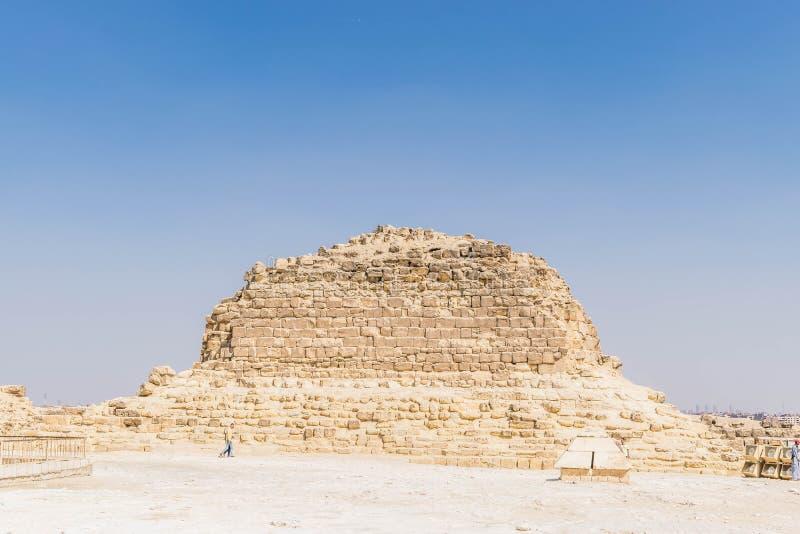 Pirâmide G1-c em Giza, Egito foto de stock royalty free