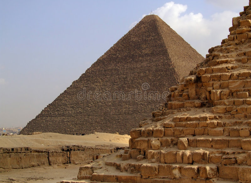 Pirâmides de giza 34 imagem de stock royalty free
