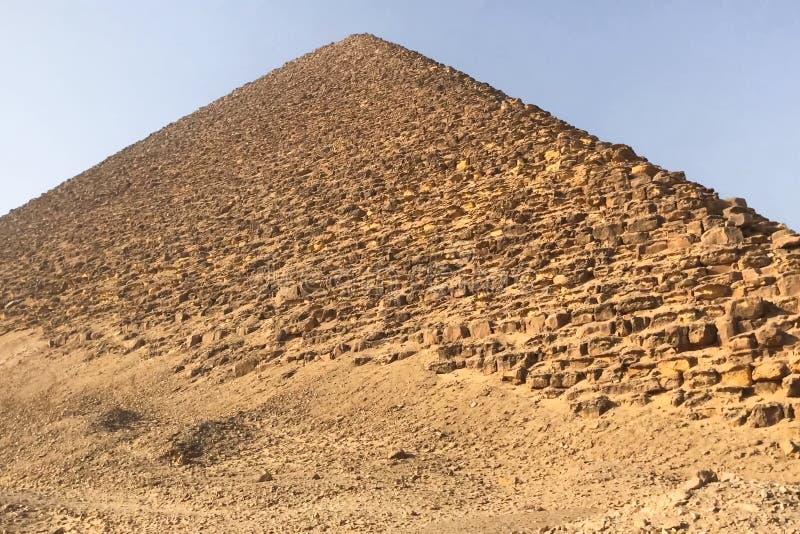 Pirâmides de Giza Grandes pirâmides de Egipto A sétima maravilha do mundo Megálitos antigos fotos de stock royalty free