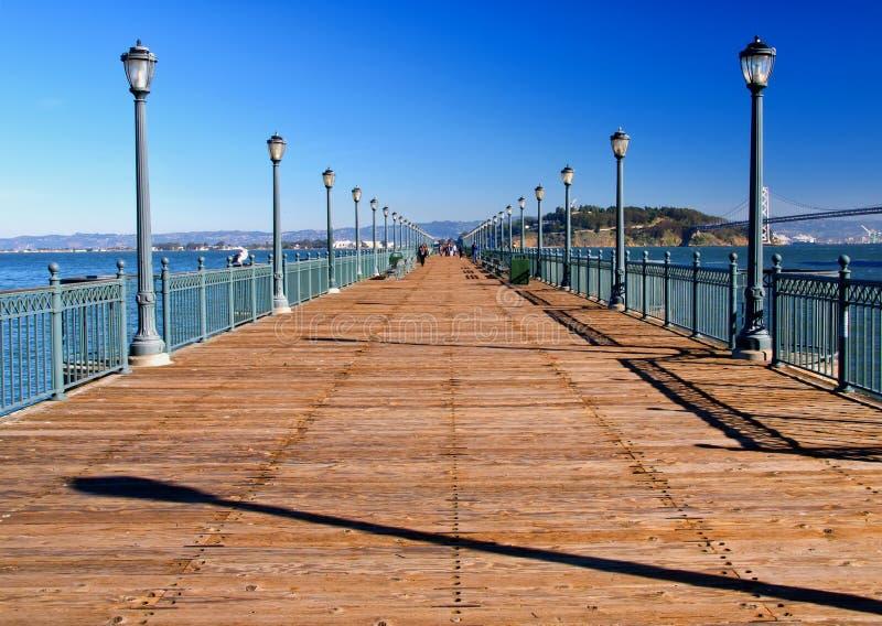 Pir 7 San Francisco royaltyfri fotografi