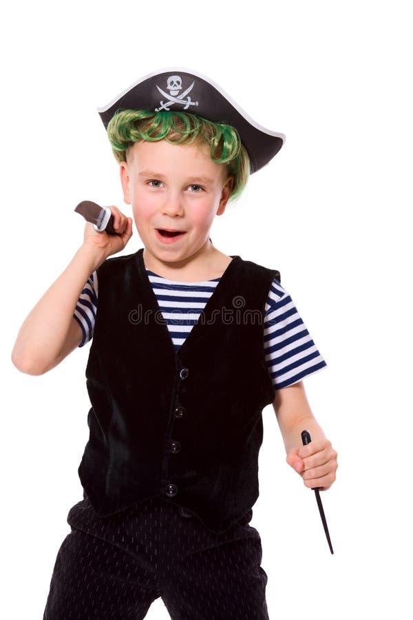 Piraat royalty-vrije stock foto