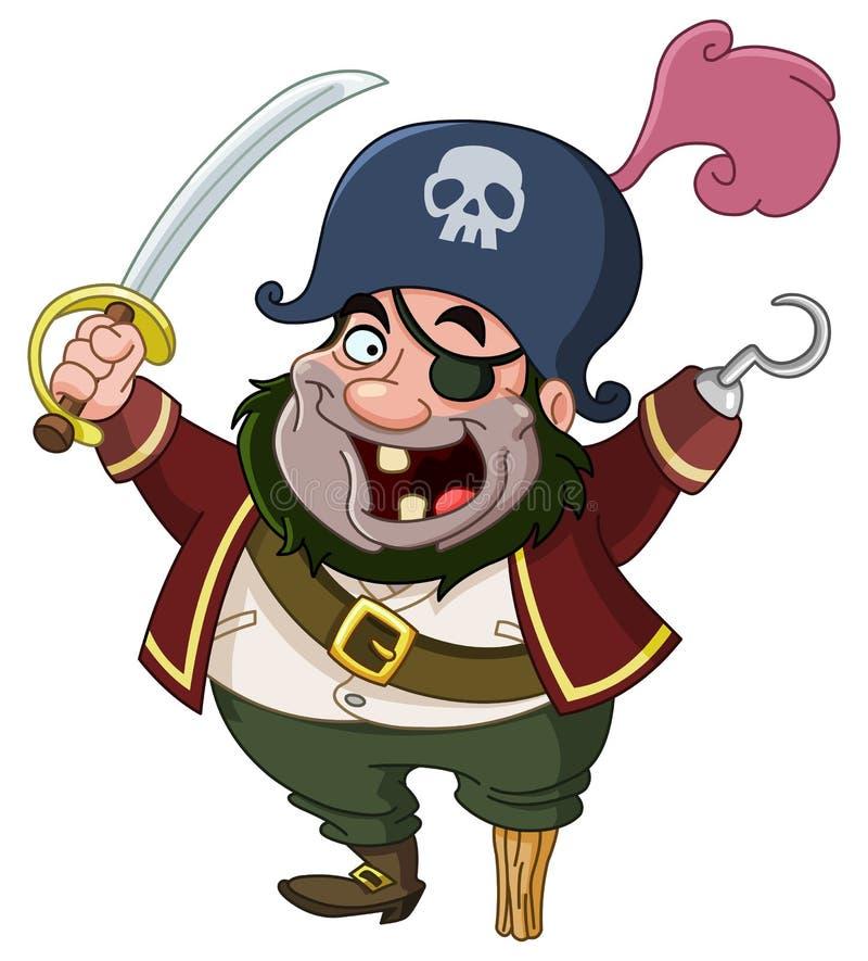 Piraat vector illustratie