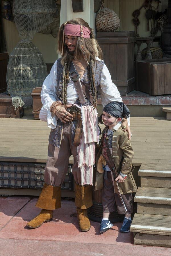 Piraat, Disney World, Magisch Koninkrijk, Reis, Florida royalty-vrije stock afbeeldingen