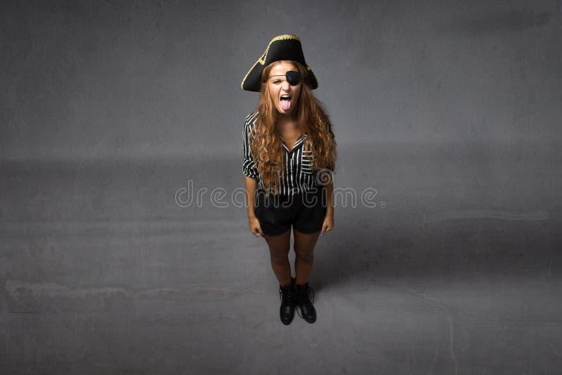 Piraat gemaakte tong stock afbeeldingen