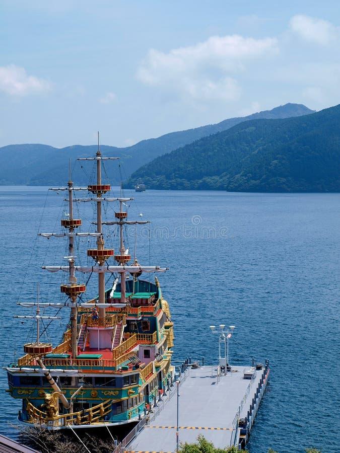 Piraatcruise royalty-vrije stock foto's