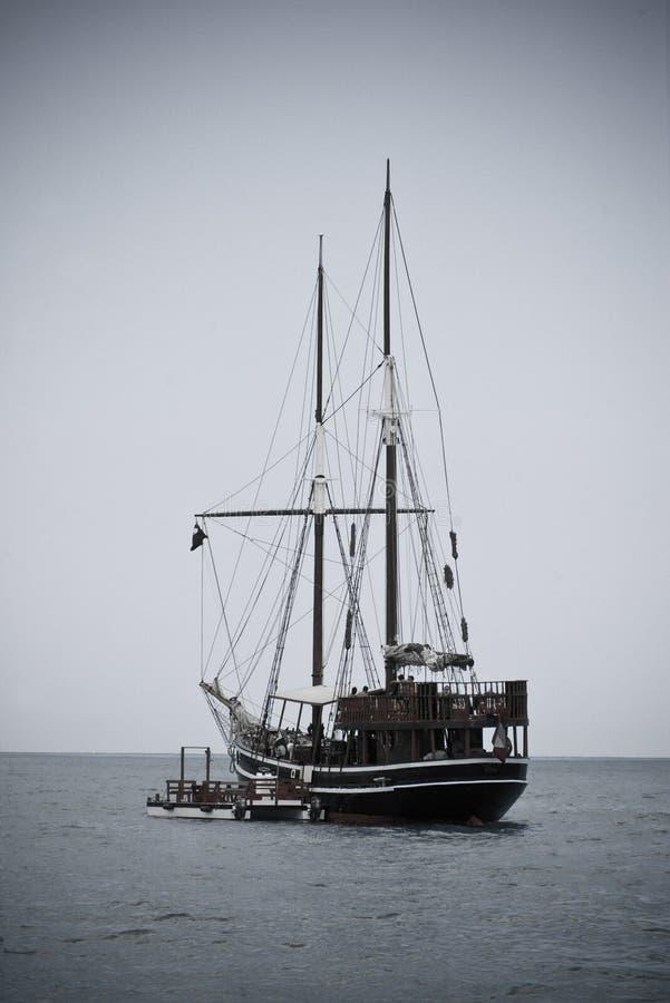 piraci łodzi ii fotografia royalty free